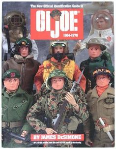 GI JOE IDENTIFICATION GUIDE BOOK '64-'78 BY DeSIMONE FOR VINTAGE 12 INCH SETS Sold for 71.00