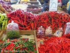 พริก Chili, Chile, Chilis