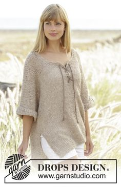 Country Stroll by DROPS Design - Free #knitting pattern online now!