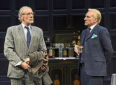Ian McKellen and Patrick Stewart in Pinter's No Man's Land, Berkeley Rep, Aug. 2013
