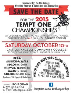 Tempt One Martial Art Championships In East Los Angeles
