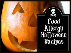 Food Allergy-Friendly Halloween Recipes: all grain-free, dairy-free and sugar-free (honey or date sugar only) and are legal on SCD or the GAPS Diet. They include links to 6 Halloween Basics; 7 Halloween Bread, Muffins and Cereal; 4 Halloween Drinks; 3 Halloween Side Dishes & Appetizers; 4 Halloween Soups and Stews; 8 Halloween Sweets & Desserts; and 9 Halloween Treats & Candy.