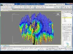 Wind effects on trees in 3ds Max - YouTube