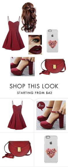 """Untitled #119"" by vic-valdez on Polyvore featuring Glamorous, Reneve and Lizzy Disney"