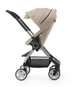 Introducing Beige Melange: a brand-new, high-fashion fabric from #Stokke.  #StokkeChic #Scoot