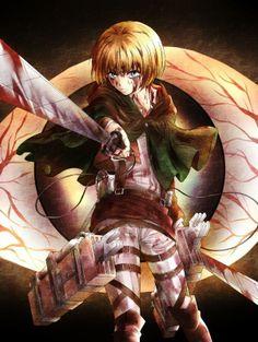 Armin - Attack on Titan/Shingeki no Kyojin Fanart Manga, Manga Art, Aot Armin, Attack On Titan Art, Accel World, Kaichou Wa Maid Sama, Ouran Host Club, Awesome Anime, Sword Art