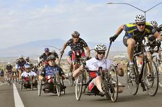 War vets participating in Ride 2 Recovery event