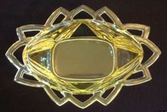 Pattern:   Pyramid Depression Glass  Manufacturer:   Indiana Glass Company