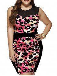 SHARE & Get it FREE   Plus Size Sleeveless Leopard Print Sheath DressFor Fashion Lovers only:80,000+ Items • New Arrivals Daily • Affordable Casual to Chic for Every Occasion Join Sammydress: Get YOUR $50 NOW!