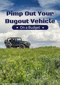 Budget friendly gear and upgrades to make your vehicle zombie proof!