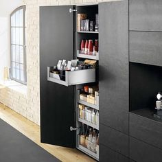 blum voorraadkast keuken met extra brede lades en handige indeling legrabox moderne. Black Bedroom Furniture Sets. Home Design Ideas