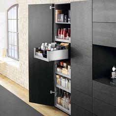 blum voorraadkast keuken met extra brede lades en handige indeling legrabox moderne. Black Bedroom Furniture Sets. Home Design Ideas