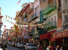 China Town, San Francisco, California. Photo by Andy New.