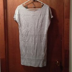 Tops - Silver tunic - Size M, $20
