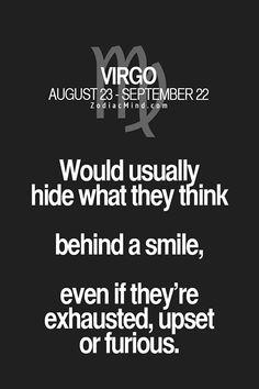 Virgos and hiding