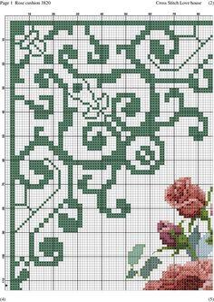 Rose cushion-001