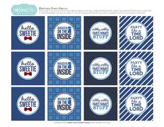 Free Party Printables Doctor Who 50th Anniversary Party Ideas