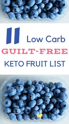 The keto fruit list you should know to be in ketosis. The keto fruits you can safely take while in a ketogenic diet. These low carb keto fruits are perfect to make keto smoothies.