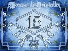 Cartolina per Nozze di Cristallo: 15 anni insieme