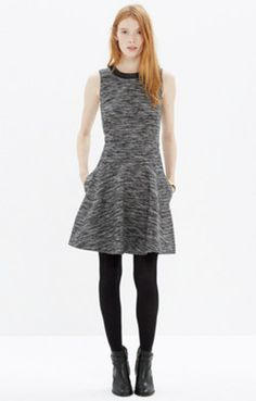The Anywhere Dress in Tweed