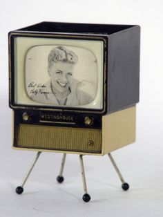 Westinghouse TV Television Advertising Betty Furness Planter or Pen Holder 50'S | eBay