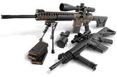 LWRC SABR Sniper 20inch barrel and 12 inch barrel .308