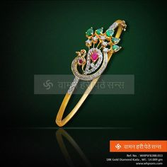 Wonderfully crafted diamond kada
