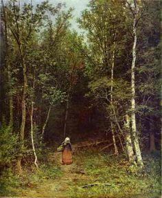 by Ivan Shishkin (Russian: Ива́н Ши́шкин (1832 – 1898) was a Russian landscape painter.