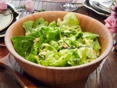 Butter Lettuce Salad with Mustard Vinaigrette - Tiffani Thiessen