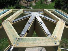 bracket for a gazebo roof   Buy Online, Gazebo Rafter Bracket Gal 4, 6 & 8 sided   DEMAK Outdoor ...