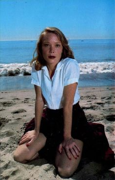 Sissy Spacek by Annie Leibovitz. Sissy Spacek (b. Dec 25, 1949), American actress and singer who came to fame for her roles in Badlands and Carrie (based on the Stephen King novel), for which she earned her first Academy Award nomination. She won the Academy Award for Best Actress for her role as country star Loretta Lynn in the film Coal Miner's Daughter (1980) and received Oscar nominations for her roles in Missing, The River, Crimes of the Heart, and In the Bedroom.