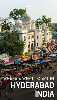 Hyderabad is famous for its food, and the Old City is a great place to start. Here are tips on where and what to eat in Hyderabad's Old City, with map. India Travel Guide, Asia Travel, Wanderlust Travel, Kerala, India Destinations, Visit India, India Tour, South India, Old City