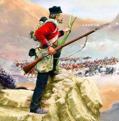 British Light Division at the Battle of Alma, Crimean War