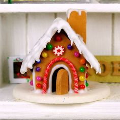 Hey, I found this really awesome Etsy listing at https://www.etsy.com/listing/210500276/gingerbread-house-dollhouse-miniature