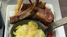 Rack of lamb, dauphinoise potato, roasted vegetables with redcurrant reduction - RTE Food