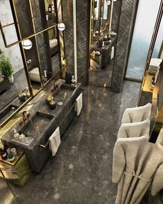 Antolini Black Bathroom on Behance – Antolini Schwarzes Badezimmer in Ordnung – Bathroom Design Luxury, Home Interior Design, Luxury Interior, Royal Bathroom, Bathroom Black, Bathroom Small, Master Bathroom, Bathroom Basin, Washroom