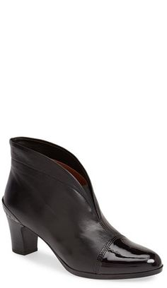 $184, Seattle Ankle Bootie by Hispanitas. Sold by Nordstrom. Click for more info: http://lookastic.com/women/shop_items/137185/redirect