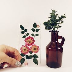Flower Stone  Pressed flower phone case by flowerstonemelbShop