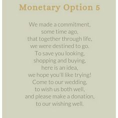 Wedding Money Gift Quotes : ... monetary gift more bee s wedding alonso wedding wedding gift wedding