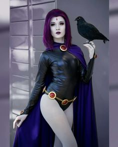 Hendo Art is a Los Angeles, California based cosplayer. She is best known for her Spidey cosplay but loves to dabble in all genres. Best Cosplay, Anime Cosplay, Cosplay Girls, Raven Teen Titans Go, Bishoujo Statue, Squirrel Girl, Warrior Girl, Sexy, Dark Beauty