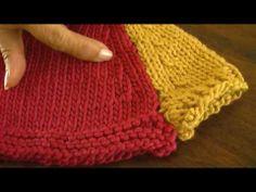 Dos agujas: manga ranglan (Parte 1) Crochet Baby Sweaters, Baby Knitting, Knit Crochet, Knitting Videos, Crochet Videos, Crochet Designs, Knitting Needles, Arm Warmers, Needlework