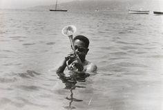Dizzy Gillespie sur la Côte d'Azur