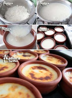 rice puddi… – About Sweets Rice Pudding Recipe Oven, Cookie Recipes, Dessert Recipes, Desserts, Rice Recipes, Cake Oven, Turkish Sweets, Hotel Food, Turkish Recipes