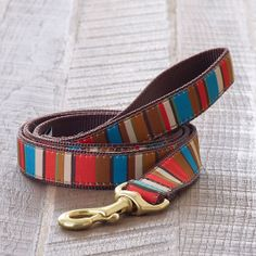 Ribbon Dog Collars & Leashes | The Company Store