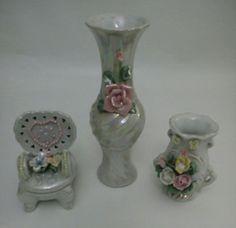 Peças em porcelana