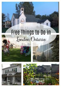 You don't have to spend money to have fun. There are plenty of free things to do in London Ontario. From parks to museums to concerts and more, there's something for everyone. Best Places In London, Things To Do In London, Free Things To Do, Fun Things, Ontario Travel, Canada Travel, Canada Trip, Canada 150, London City