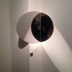 Anamorphosis mirror design by Valérie Windeck