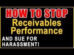 Receivables Performance Harassment? | Sue and Get Up to $1,500 Per Call ...