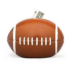 Football Sports Themed Ceramic Kids Piggy Bank Bedroom Decor: http://www.amazon.com/Football-Sports-Themed-Ceramic-Bedroom/dp/B000O8P8AA/?tag=headisstrandh-20