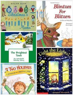 """When your family is """"both"""" - Interfaith Holiday Books for Children to help your family celebrate and understand both Christmas and Hanukkah"""
